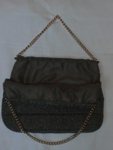 Tweed bag interior
